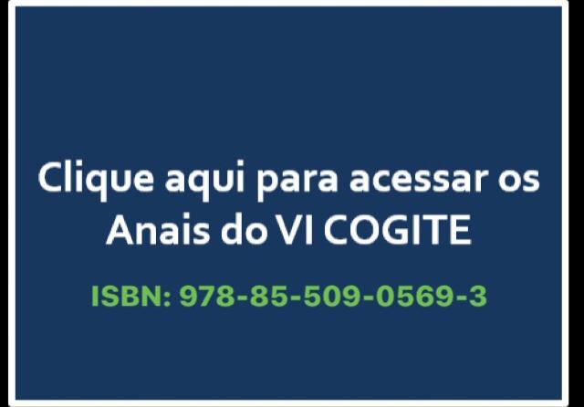 Clique aqui para acessar os ANAIS do VI COGITE